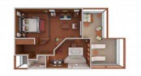 3-Bed Sunset Villa