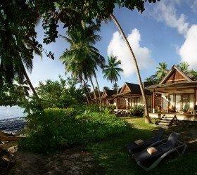 Třílůžková Beachfront Villa